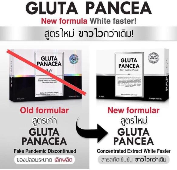 gluta panacea berubah jadi gluta pancea